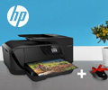 Мышь или клавиатура HP в подарок при покупке струйных МФУ и принтеров HP.