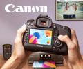 Покупайте технику Canon, участвующую в акции, и получайте часть денег обратно на банковскую карточку.