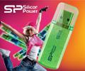 Скидка до 15% по промокоду на USB флешки 2.0 Siliсon Power.