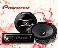 Экстрабонусы в размере 10% от цены за автомобильную электронику Pioneer.