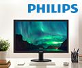Экстрабонусы в размере 10% от цены за покупку мониторов Philips.