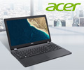 Экстрабонус 400 рублей при покупке ноутбуков Acer Extensa и Travelmate.