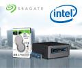 Скидка 10% на жёсткий диск Seagate при покупке в комплекте с Intel Nuc.