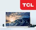 Кредит без переплат на 10 месяцев или 24 месяца на телевизоры TCL.