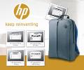Рюкзак для ноутбука в подарок за лазерные МФУ и принтеры HP.
