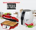 Вафельница GFGRIL со скидкой 100% при заказе с аэрогрилем GFGRIL.