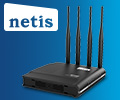 Экстрабонусы в размере 10% от цены за роутер NETIS WF2880.