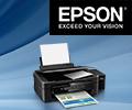 Экстрабонусы в размере 10% от цены в подарок за принтеры и МФУ Epson.