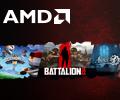 Покупай видеокарты AMD Radeon™ и получай одну или две игры в подарок.
