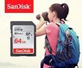 Скидка 10% по промокоду на карты памяти SanDisk.