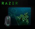 Коврик для мыши Razer Goliathus Mobile в подарок при покупке в комплекте с мышами Razer.