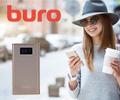 Скидка 30% на мобильный аккумулятор Buro при покупке со смартфоном.