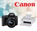 Скидка 100% на компактный фотопринтер при покупке в комплекте с фотоаппаратом Canon.