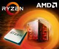 Скидки до 10% по промокоду на процессоры AMD Ryzen.