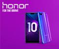 Кредит без переплат на 24 месяца на смартфоны Honor 10.
