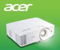 Скидка 10% по промокоду на проекторы Acer.