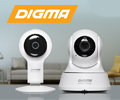 Скидка 15% по промокоду на видеокамеры IP DIGMA DiVision.