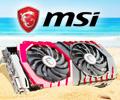 Скидки до 7% по промокоду на видеокарты MSI.
