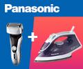 Скидка 100% на утюг или триммер Panasonic при заказе в комплекте.
