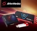 ТВ/FM-тюнер AVerMedia со скидкой 100% при покупке в комплекте с картой видеозахвата AVerMedia.