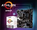 Скидка 10% за покупку процессора AMD Athlon в комплекте c материнской платой.