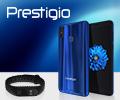 Скидка 100% на фитнес-трекер Xiaomi при покупке в комплекте со смартфонами Prestigio X Pro или Prestigio S Max.