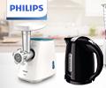 Экстрабонусы 20% от цены за бытовую технику Philips.
