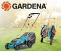 Скидка 20% по промокоду на садовую технику Gardena.